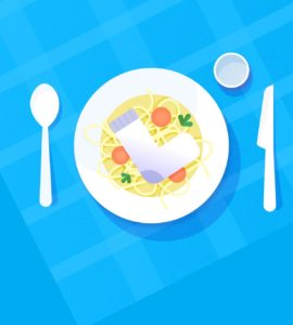 foods plate