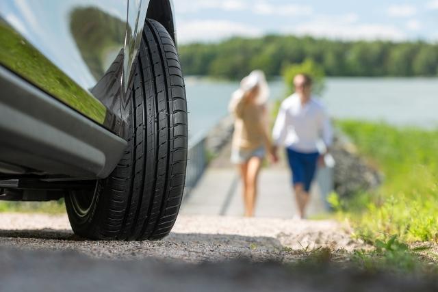 Не забудьте увеличить давление в шинах