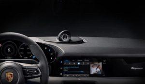 Porsche Taycan станет первой машиной со встроенной Apple Music