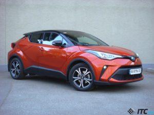 Обзор Toyota C-HR Hybrid
