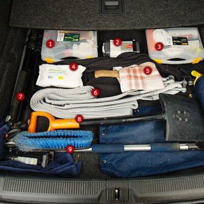 Что всегда должно лежать в багажнике?